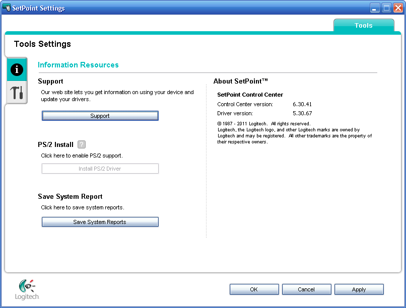 A common sense workaround for installing SetPoint in a VMware